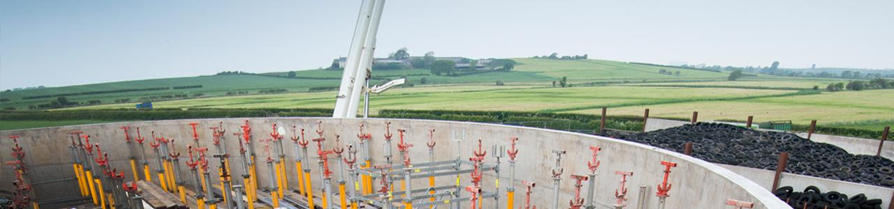 Lancaster Biogas Tank